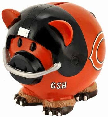 Chicago Bears Large Thematic Piggy Bank