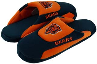 Chicago Bears Low Pro Scuff Slippers - Large