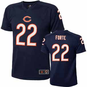 Chicago Bears Matt Forte Youth Performance T-shirt - Medium