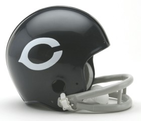 Chicago Bears Mini Replica Throwback Football Helmet