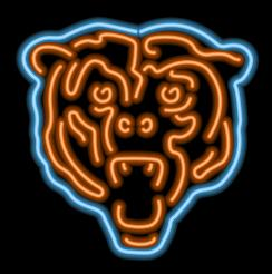 Chicago Bears Neon Light