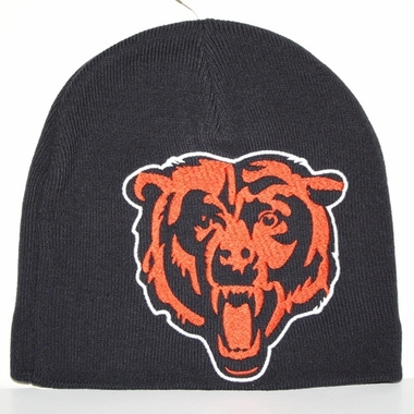 Chicago Bears New Era Big One Too Cuffless Knit Hat