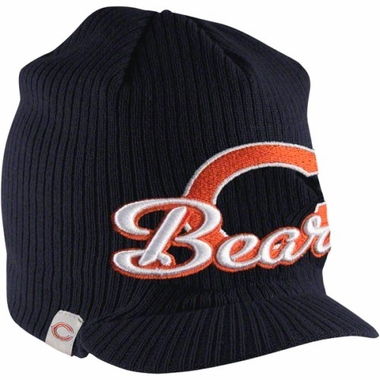 Chicago Bears New Era NFL Retro Viza Visor Knit Hat
