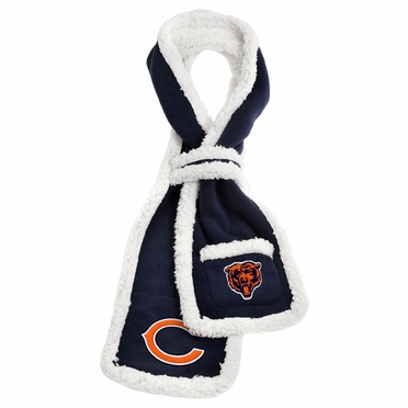 Chicago Bears NFL Team Sherpa Scarf