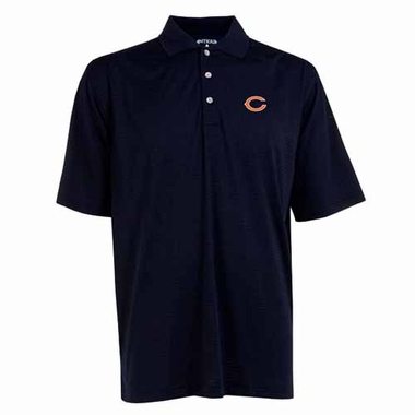 Chicago Bears Mens Phoenix Waffle Weave Polo (Team Color: Navy)
