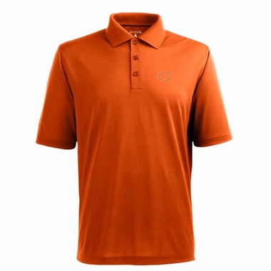 Chicago Bears Mens Pique Xtra Lite Polo Shirt (Alternate Color: Orange)