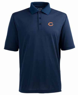 Chicago Bears Mens Pique Xtra Lite Polo Shirt (Team Color: Navy)