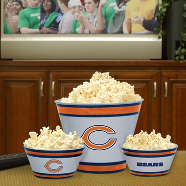 Chicago Bears Plastic Serving Set