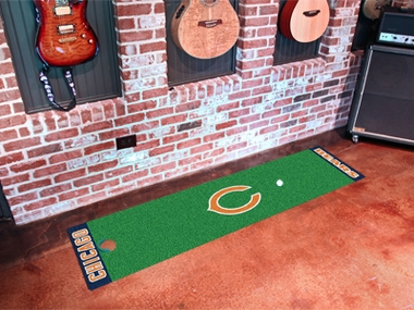Chicago Bears Putting Green Mat