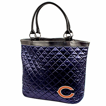 Chicago Bears Quilted Tote