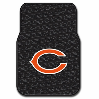 Chicago Bears Set of Rubber Floor Mats