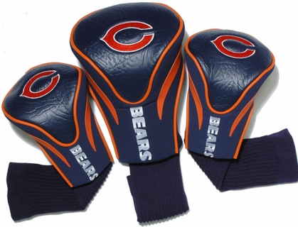 Chicago Bears Set of Three Contour Headcovers