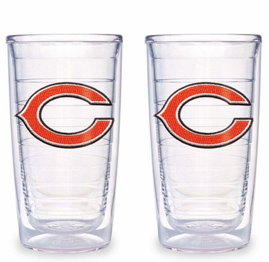 Chicago Bears Set of TWO 16 oz. Tervis Tumblers