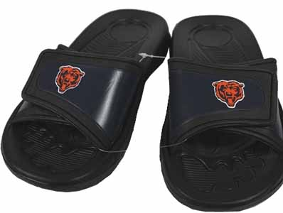 Chicago Bears Shower Slide Flip Flop Sandals - Small