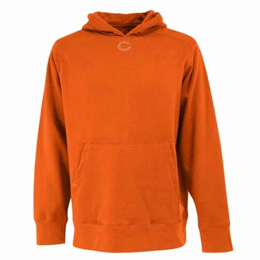Chicago Bears Mens Signature Hooded Sweatshirt (Alternate Color: Orange)
