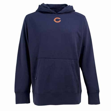 Chicago Bears Mens Signature Hooded Sweatshirt (Color: Navy)