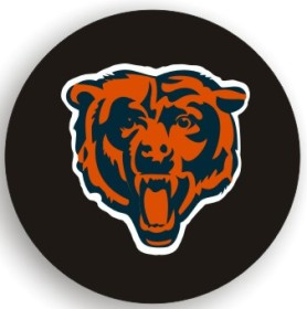 Chicago Bears Spare Tire Cover (Small Size)