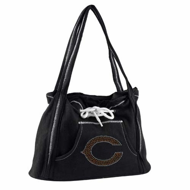 Chicago Bears Sport Noir Hoodie Purse