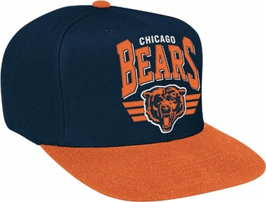 Chicago Bears Stadium Throwback Snapback Hat