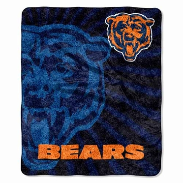 Chicago Bears Super-Soft Sherpa Blanket