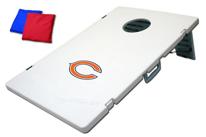 Chicago Bears Tailgate Toss 2.0 Cornhole Beanbag Game