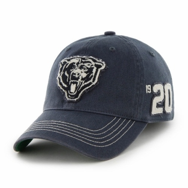 Chicago Bears Throwback Badger Franchise Flex Fit Hat