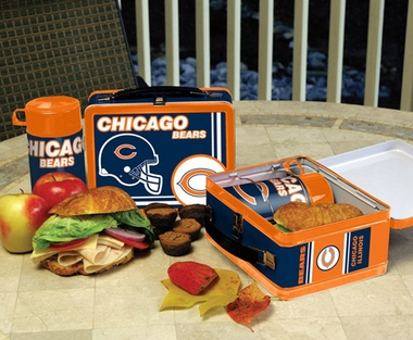 Chicago Bears Tin Lunch Box