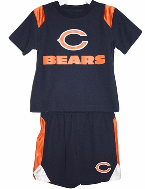 Chicago Bears Toddler NFL Mesh Crew Shirt & Shorts Set