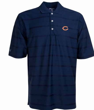 Chicago Bears Mens Tonal Polo (Team Color: Navy)