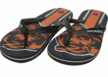 Chicago Bears Unisex Big Logo Flip Flops