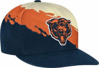 Chicago Bears Vintage Paintbrush Snap Back Hat