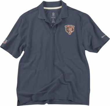 Chicago Bears Vintage Retro Polo Shirt