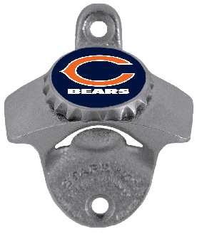 Chicago Bears Wall Mount Bottle Opener