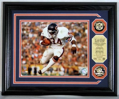 Chicago Bears Walter Payton Photomint