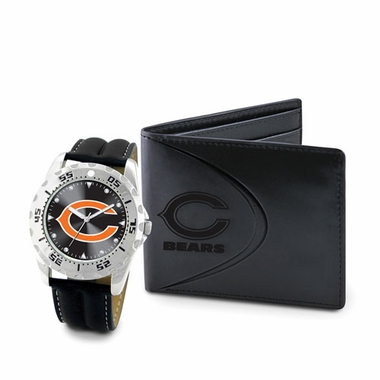 Chicago Bears Watch and Wallet Gift Set