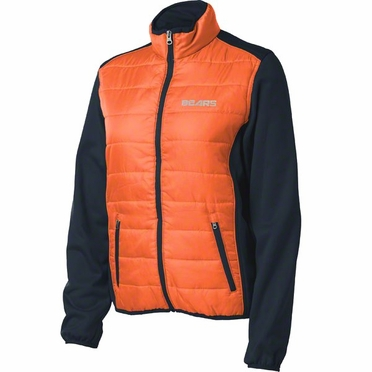 Chicago Bears Women's Everest Full Zip Quilted Front Panel Jacket