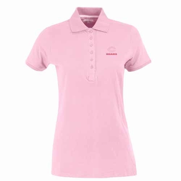 Chicago Bears Womens Spark Polo (Color: Pink)