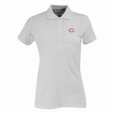 Chicago Bears Womens Spark Polo (Color: White)