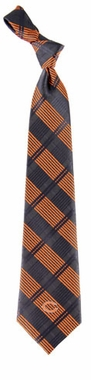 Chicago Bears Woven Plaid Necktie