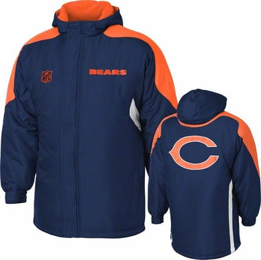 Chicago Bears YOUTH Field Goal Midweight Full Zip Hooded Jacket