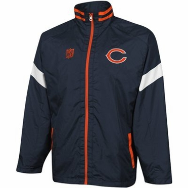 Chicago Bears YOUTH Goal Post Lightweight Full Zip Jacket