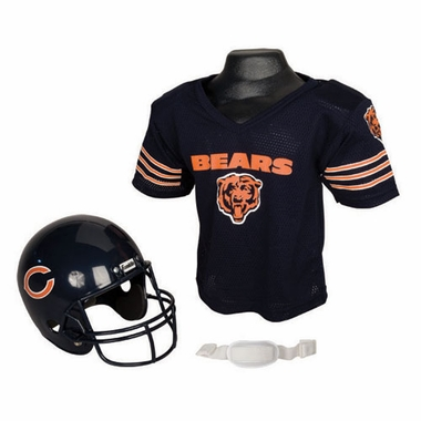 Chicago Bears Youth Helmet and Jersey Set