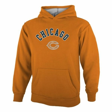 Chicago Bears YOUTH NFL Vintage Garment Washed Hooded Sweatshirt