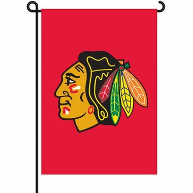 Chicago Blackhawks 11x15 Garden Flag