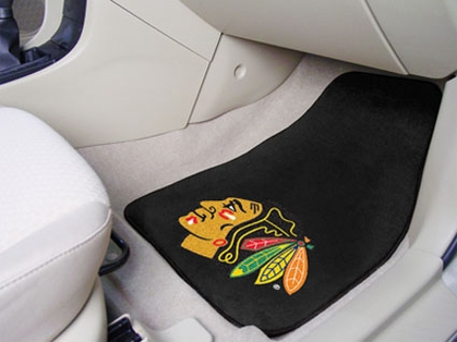 Chicago Blackhawks 2 Piece Car Mats