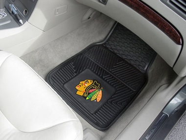 Chicago Blackhawks 2 Piece Heavy Duty Vinyl Car Mats