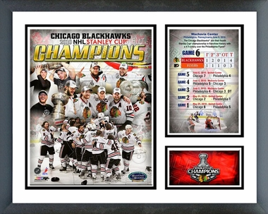 Chicago Blackhawks 2010 Stanley Cup Champion Milestone & Memories