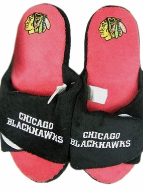 Chicago Blackhawks 2011 Open Toe Hard Sole Slippers