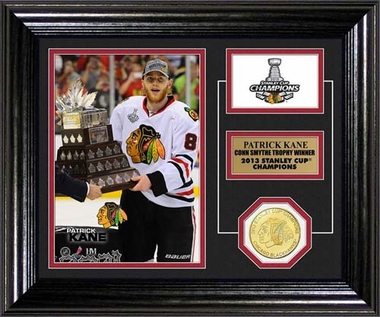 Chicago Blackhawks 2013 Conn Smythe Trophy Desktop Photo Mint