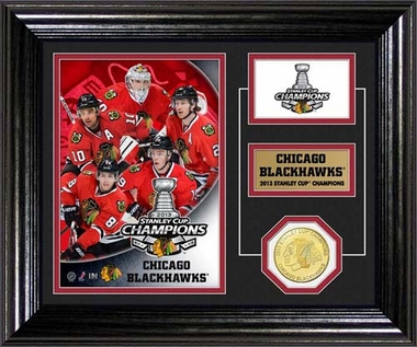 Chicago Blackhawks 2013 Stanley Cup Champions Desktop Photo Mint